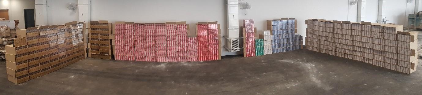 12,479 Cartons Of Duty-Unpaid Cigarettes Encased In Concrete Blocks Seized