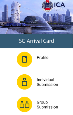 SG Arrival Card (mobile)