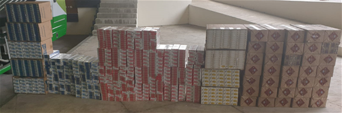 More Than 3,000 Cartons Of Duty-Unpaid Cigarettes Found Hidden In Prime Mover And Bus At Tuas Checkpoint